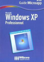 Windows Xp Professionnel - Intérieur - Format classique