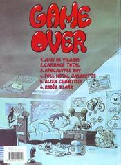 Kid Paddle t.6 ; rodéo blork - 4ème de couverture - Format classique