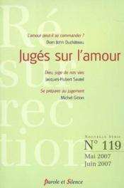 Resurrection N119 Mai/Juin 2007 - Juges Sur L'Amour - Couverture - Format classique