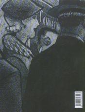 La malle sanderson - 4ème de couverture - Format classique