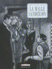 La malle sanderson - Couverture - Format classique