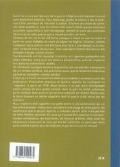 A L'Epreuve De La Guerre D'Algerie : Des Profs D'Eps Temoignent - 4ème de couverture - Format classique
