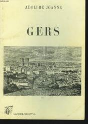 Geographie du departement du gers - Couverture - Format classique
