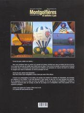Montgolfieres Et Ballons A Gaz ; Championnats Du Monde - 4ème de couverture - Format classique