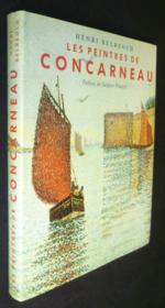 Les peintres de Concarneau - Couverture - Format classique