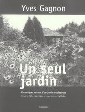 Un Seul Jardin - Intérieur - Format classique