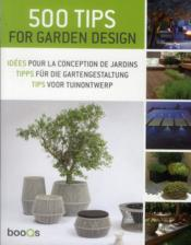 Vente livre :  500 tips for garden design  - Marta Serrats