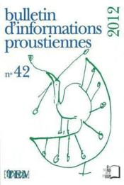 Vente  Bulletin proust n 42  - Collectif