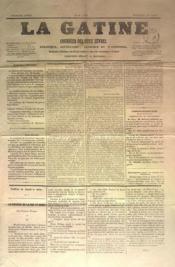 Gatine (La) N°25 du 28/08/1870 - Couverture - Format classique