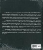 Don Mccullin The Impossible Peace: From War Photographs To Landscapes, 1958-2011 /Anglais - 4ème de couverture - Format classique