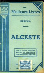 Alceste - Couverture - Format classique