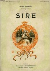 Sire. Collection Modern Bibliotheque. - Couverture - Format classique