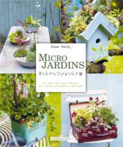 Micro jardins - Couverture - Format classique
