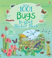 Vente livre :  1001 bugs to spot ; sticker book  - Teri Gower
