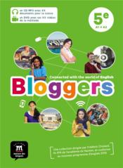 Vente livre :  Bloggers ; anglais ; 5e ; pack CD + DVD  - Collectif
