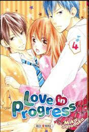 Vente  Love in progress T.4  - Mika Satonaka