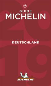Vente livre :  Guide rouge ; Deutschland (édition 2019)  - Collectif Michelin