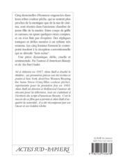 Cinq Filles Couleur Peche - 4ème de couverture - Format classique
