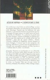 Bonheur Dans Le Crime (En159) - 4ème de couverture - Format classique