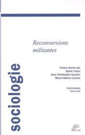 Reconversions Militantes - Couverture - Format classique
