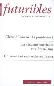 Chine / taiwan : la poudriere ? - Couverture - Format classique