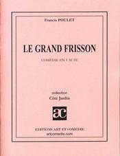 Le grand frisson - Intérieur - Format classique