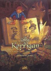 Les contes du korrigan t.4 ; la pierre de justice - Intérieur - Format classique