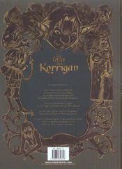 Les contes du korrigan t.4 ; la pierre de justice - 4ème de couverture - Format classique