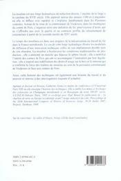Le Temps Des Moulines. Fer, Technique Et Societe Dans Les Pyrenees Ce Ntrales (Xiiie-Xvie Siecles) - 4ème de couverture - Format classique
