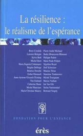 Resilience : Le Realisme De L'Esperance (La) - Intérieur - Format classique