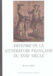 Histoire De La Litterature Francaise Du 18e Siecle - Intérieur - Format classique