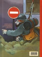 Zappe la guerre ; 1914-1918 : la première des guerres mondiales - 4ème de couverture - Format classique