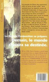 Ombramere 4 - La Grande Conjonction - 4ème de couverture - Format classique