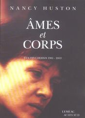 Ames et corps  - Nancy Huston