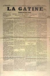 Gatine (La) N°26 du 04/09/1870 - Couverture - Format classique
