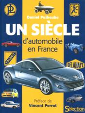 Un siècle d'automobile en France - Couverture - Format classique