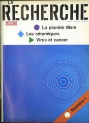Recherche (La) N°1 du 01/05/1970 - Couverture - Format classique