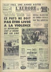 Aurore (L') N°5375 du 15/12/1961 - Couverture - Format classique