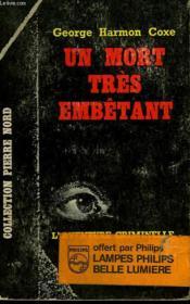 Un Mort Tres Embetant. Collection L'Aventure Criminelle N° 175 - Couverture - Format classique