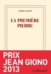 Pierre Jourde, La première pierre 56406494_10956589