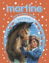 Martine ; mon premier carnet secret : cheval - Couverture - Format classique
