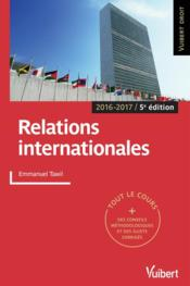 Vente  Relations internationales (2016/2017)  - Emmanuel Tawil