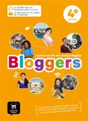 Vente livre :  Bloggers ; anglais ; 4e ; pack CD + DVD  - Collectif