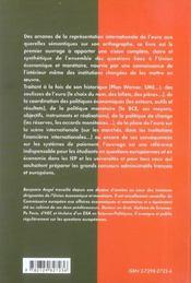 L'Union Economique Et Monetaire Instituts D'Etudes Politiques Concours Administratifs - 4ème de couverture - Format classique