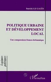 Politique Urbaine Et Developpement Local - Intérieur - Format classique