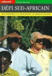 Revue Monde ; Défi Sud-Africain - Couverture - Format classique
