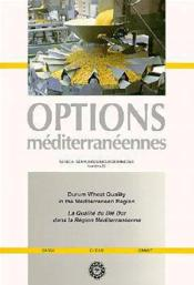 Dream wheat quality in the mediterranean - Couverture - Format classique