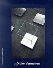 Didier vermeiren - Couverture - Format classique