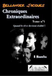 Chroniques extraordinaires t.1 - Couverture - Format classique