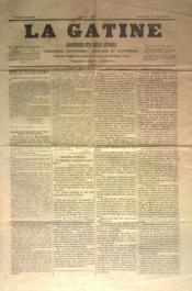 Gatine (La) N°28 du 18/09/1870 - Couverture - Format classique